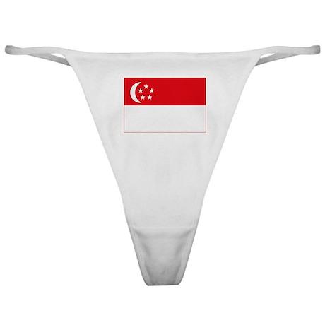 Singapore Flag Classic Thong