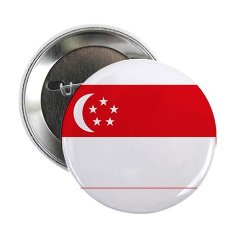 """Singapore Flag 2.25"""" Button (10 pack)"""