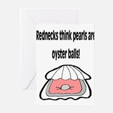 Redneck Pearls Greeting Cards (Pk of 10)