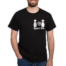 Spare Me Logo 3 T-Shirt Design Front Pocket
