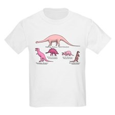 Pretty in Pink Dinosaur T-Shirt