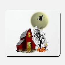 Spooky Barn Mousepad