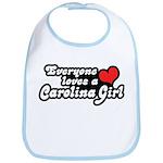 Everyone Loves A Carolina Girl Bib