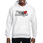 Everyone Loves A Carolina Girl Hooded Sweatshirt