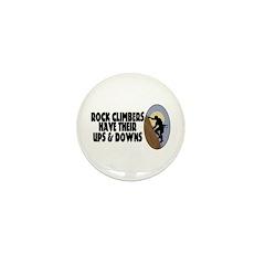Rock Climbers Mini Button (100 pack)