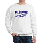 Got Freedom? USAF Sweatshirt