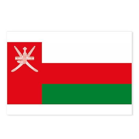 Oman Flag Postcards (Package of 8)