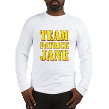 Team Patrick Jane Mentalist Long Sleeve T-Shirt