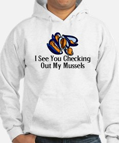 Checking Out Mussels Hoodie Sweatshirt