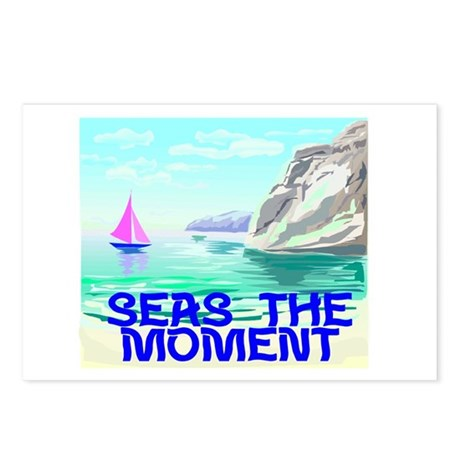 Seas The Moment Postcards (Package of 8)