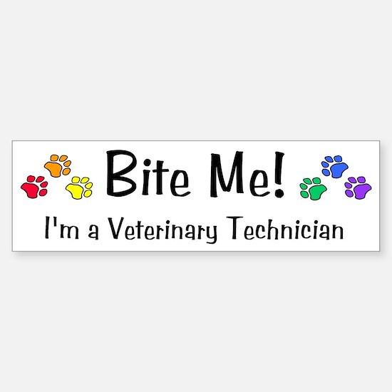 Bumper Sticker - Bite Me!