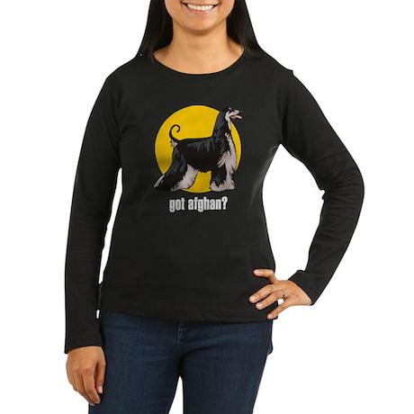 Afghan 3 Women's Long Sleeve Dark T-Shirt