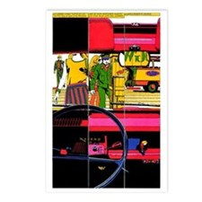 $9.99 Psychedelic PopArt 2 Postcards (8)