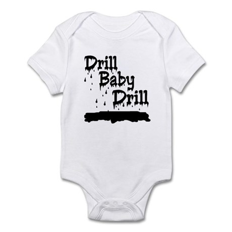 drill baby...ooops Infant Bodysuit