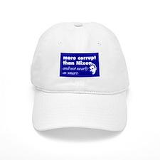 More corrupt than Nixon Baseball Baseball Cap