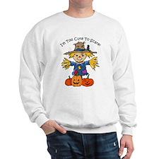 Too Cute To Scare Sweatshirt