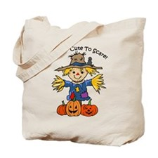 Too Cute To Scare Tote Bag