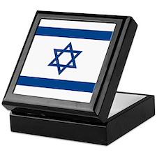 Israel Flag Keepsake Box