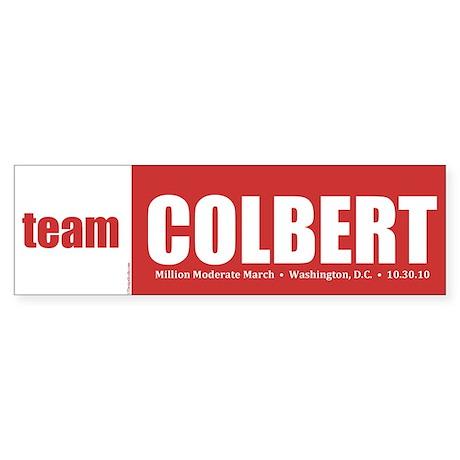 Team Colbert Sticker (Bumper)