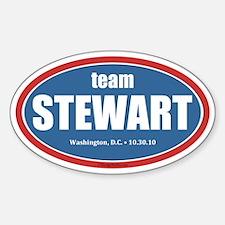 Team Stewart Decal
