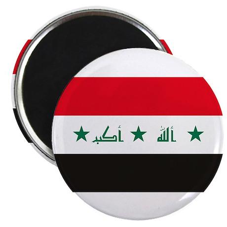 "Iraq Flag 2.25"" Magnet (10 pack)"