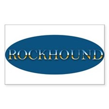 Rockhound Sticker Rectangle
