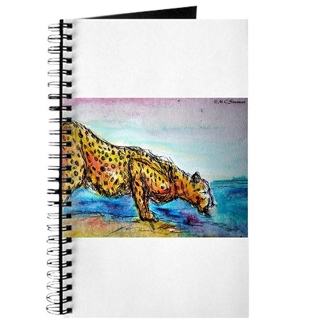Cheetah, colorful, big, cat, Journal