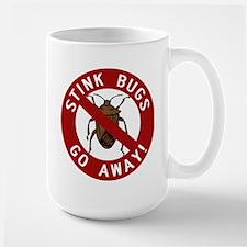 Stink Bugs Go Away Mug