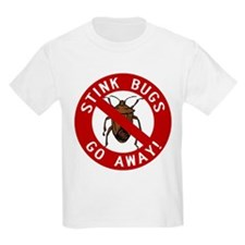 Stink Bugs Go Away T-Shirt