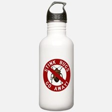 Stink Bugs Go Away Water Bottle