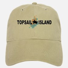 Topsail Island NC - Seashells Design Baseball Baseball Cap
