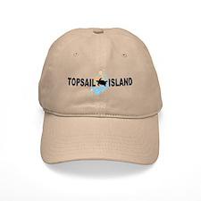 Topsail Island NC - Seashells Design Cap