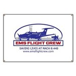 EMS Flight Crew Fixed Wing Banner