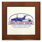 EMS Flight Crew Fixed Wing Framed Tile