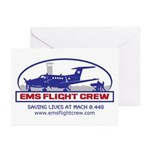 EMS Flight Crew Fixed Wing Greeting Cards (Pk of 1