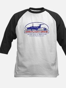 EMS Flight Crew Fixed Wing Kids Baseball Jersey