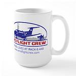 EMS Flight Crew Fixed Wing Large Mug