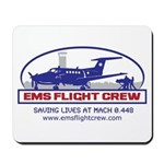 EMS Flight Crew Fixed Wing Mousepad