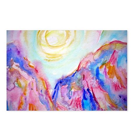 Desert sunset! Southwest art Postcards (Package of