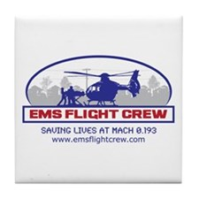 EMS Flight Crew - Rotor Wing Tile Coaster