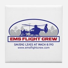 EMS Flight Crew - Rotor Wing Tile Coaster