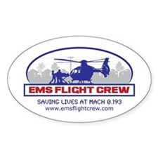 EMS Flight Crew - Rotor Wing Decal