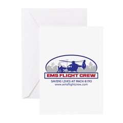 EMS Flight Crew - Rotor Wing Greeting Cards (Pk of