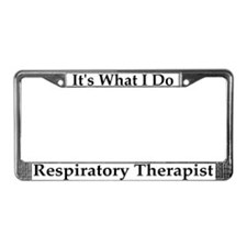 Respiratory Therapist License Frame