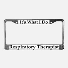 Respiratory Therapist License Frame