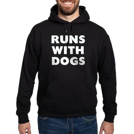 Runs Dogs Hoodie (dark)