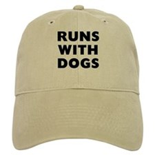 Runs Dogs Baseball Baseball Cap