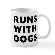 Runs Dogs Mug