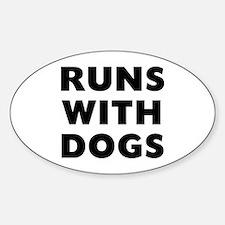 Runs Dogs Bumper Stickers