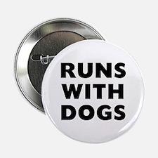 """Runs Dogs 2.25"""" Button"""